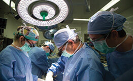Surgery Room with doctors working